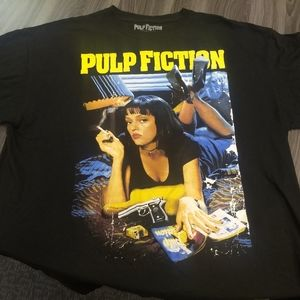 PULP FICTION T-SHIRT 👕 Retro style movie tee love